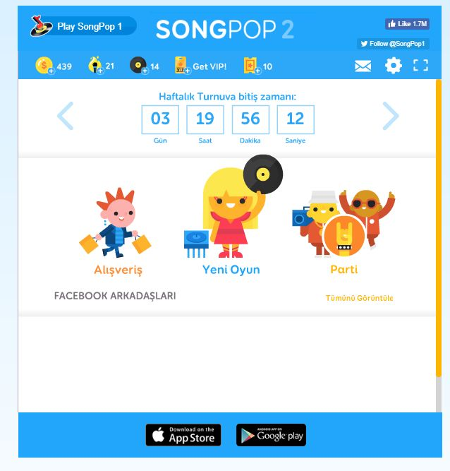 Songpop 2 Jeton Coin Makrosu Bilet Ticket Hile Cheat